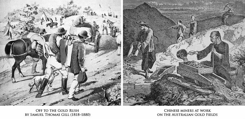 Gold rush history